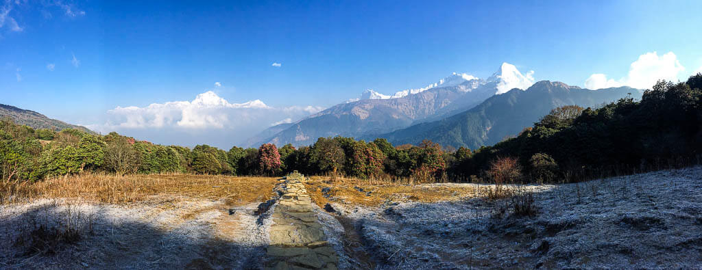 Виды с трассы Аннапурны, Непал