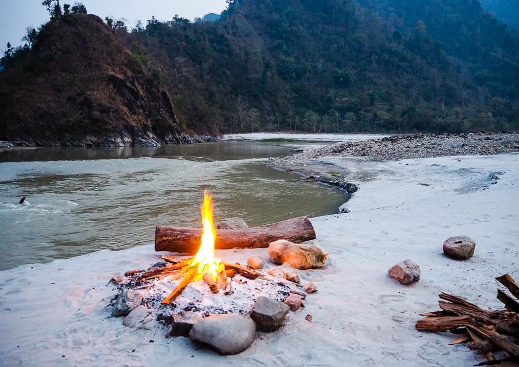 Рафтинг в Непале