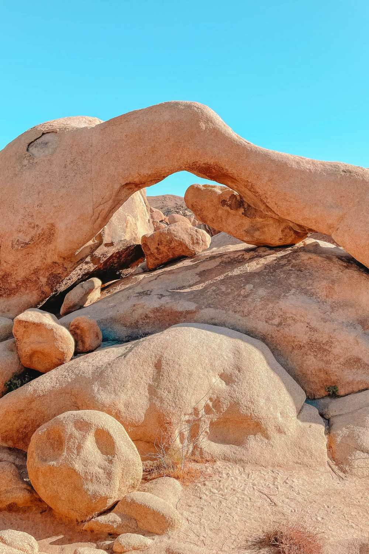 Арк-Рок в национальном парке Джошуа-Три