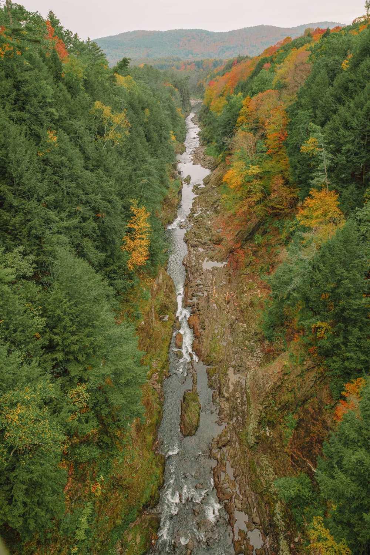 Ущелье в Вермонте
