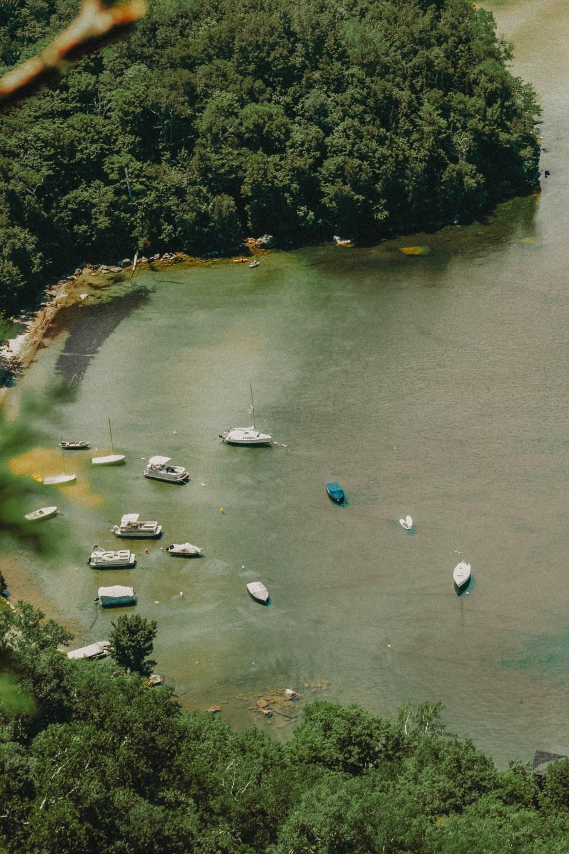 Озеро Уиллоуби в Вермонте