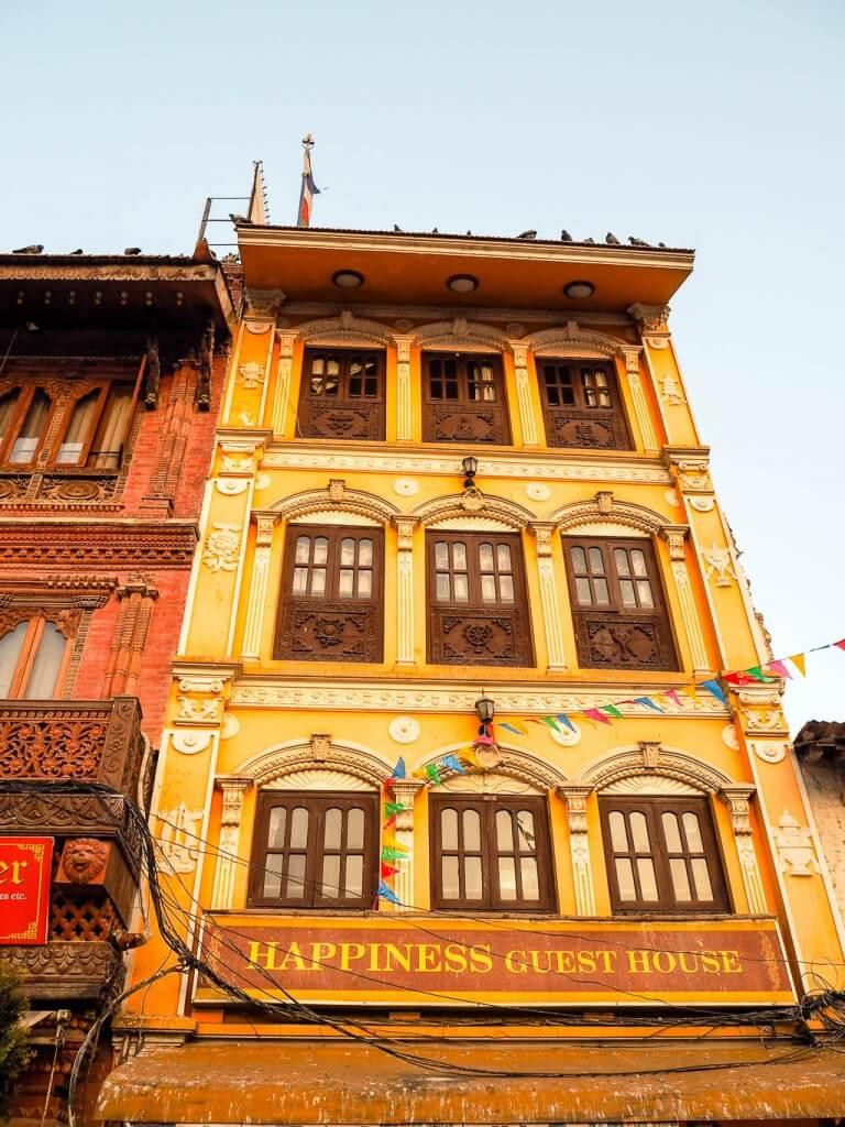 Гостевой дом перед ступой Будха