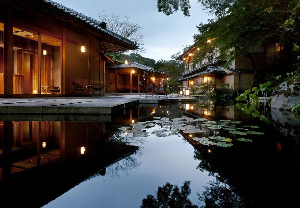Рёкан в Киото, Япония