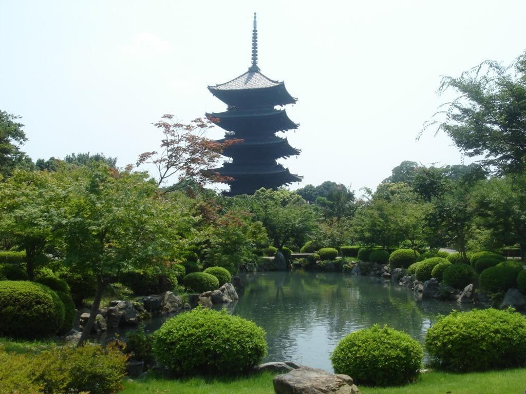 Пагода То-дзи Киото