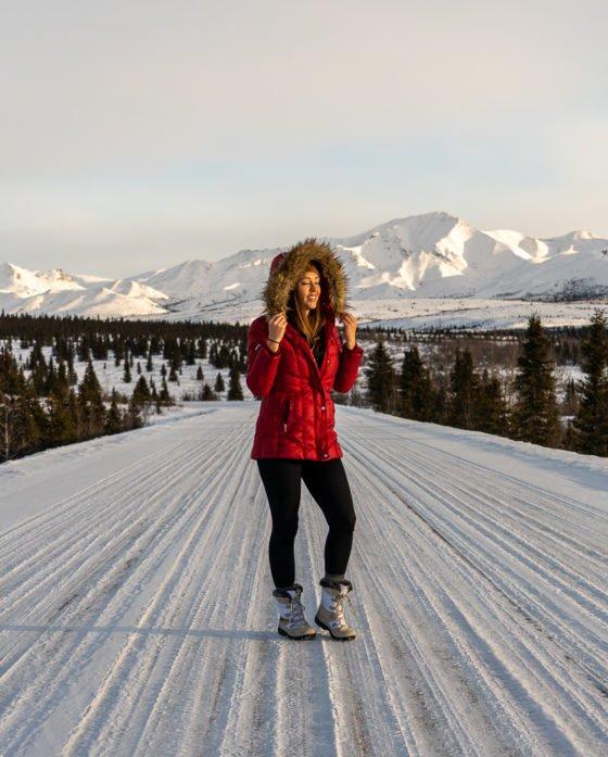 Аляска зимой
