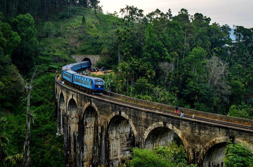 Девятиарочный мост Элла Шри-Ланка