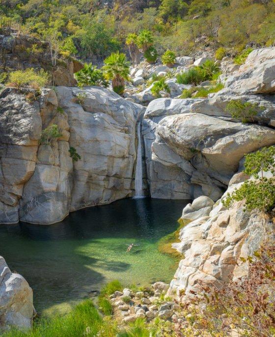 водопад сантьяго baja sur