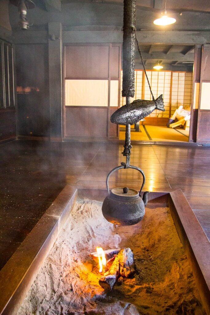 Древний чайный домик на тропе Накасэндо