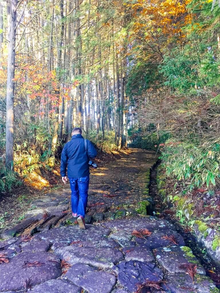 Прогулка по тропе Накасэндо