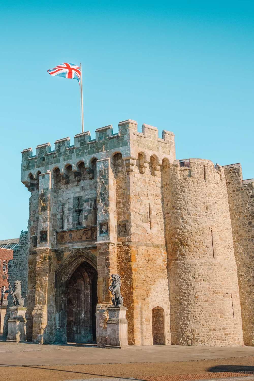 Средневековые ворота в Саутгемптоне