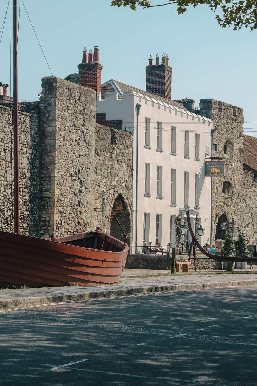 Городские стены в Саутгемптоне