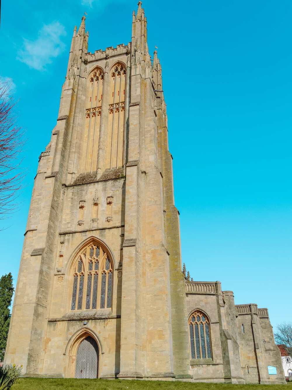 Церковь в городе Уэллс