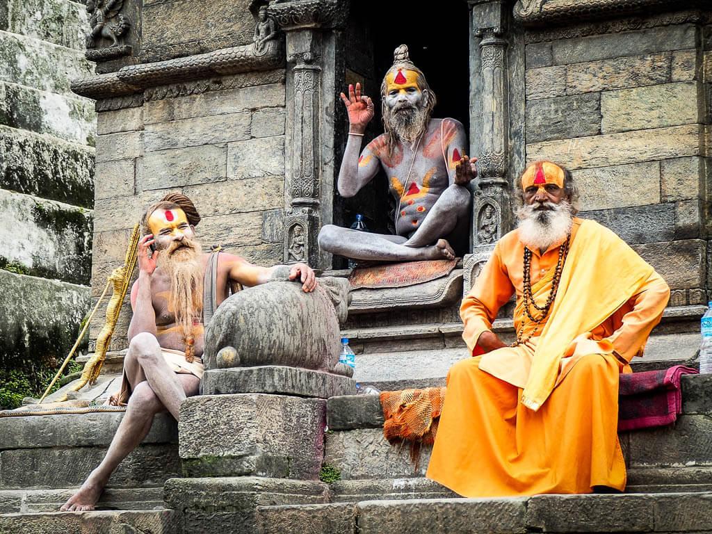 Гуру в Непале