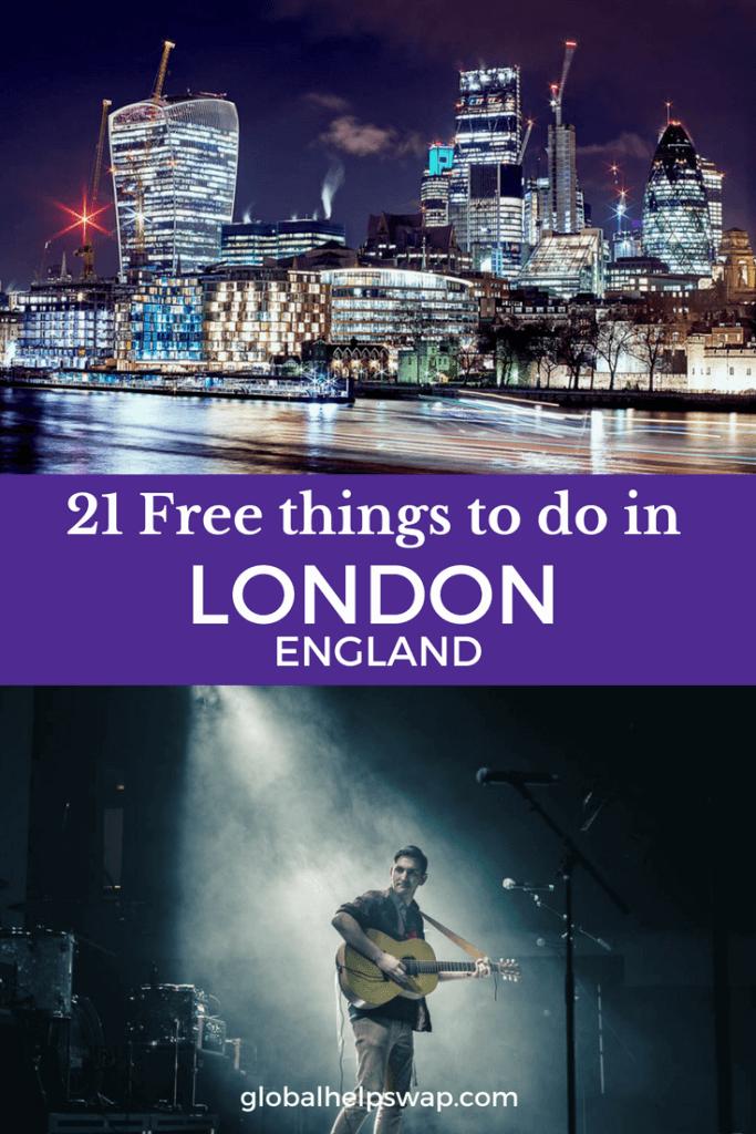 Бесплатно чем заняться в Лондоне. От бесплатной музыки и бесплатных комедийных клубов до бесплатного кино и выставок. Музеи Лондона почти все также бесплатны, как и парки и рынки.