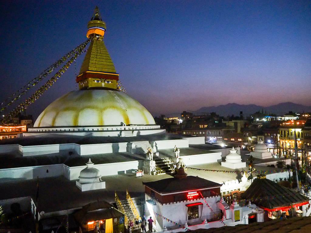 Ступа Боудха (незабываемый опыт недалеко от Катманду)