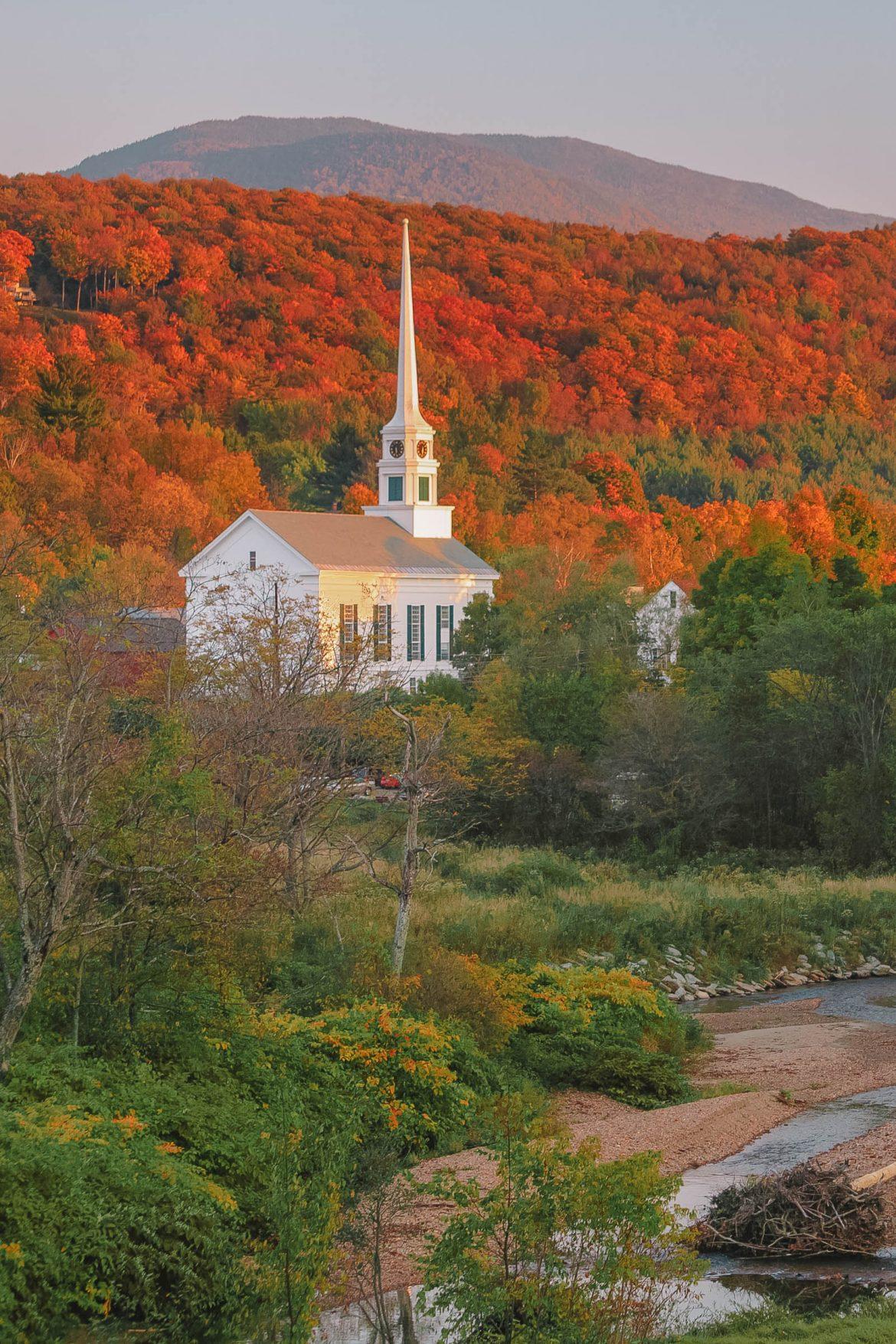 11 самых лучших мест в Вермонте для посещения