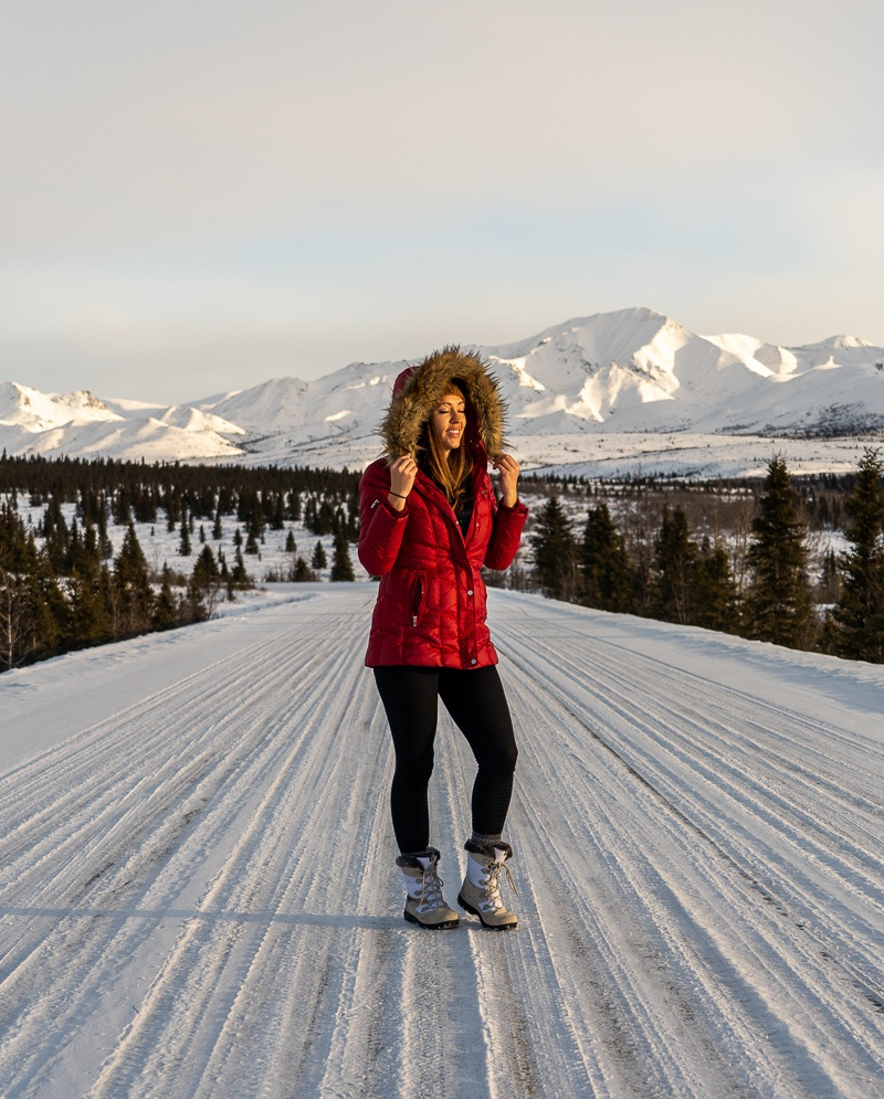 Как вам поехать на Аляску зимой?