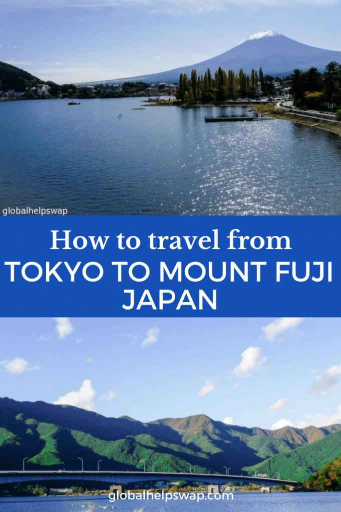 Как добраться из Токио до горы Фудзи. Кавагутико - это город, в который вы хотите отправиться, если хотите посетить гору Фудзи из Токио.