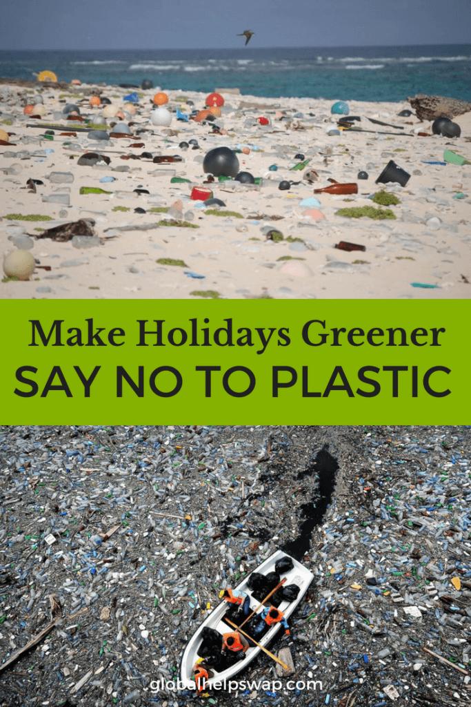 Убедитесь, что ваш отпуск или отпуск экологически чистые, отказавшись от пластика в следующий раз, когда вы путешествуете.