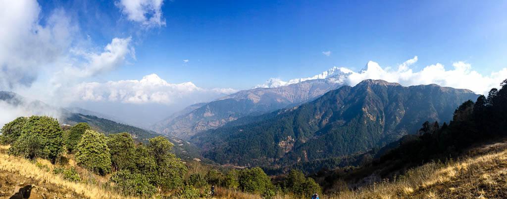 Виды Гималаев в Непале