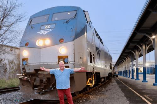 Мэтью Вудворд на американском железнодорожном приключении