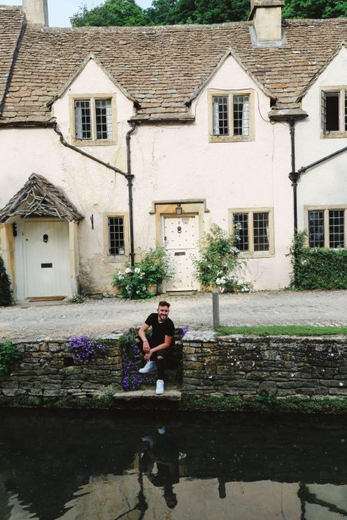 Изучение одной из самых красивых деревень Англии - Касл Комб (26)