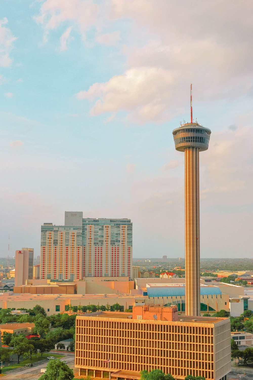 Башня Америк в Сан-Антонио, штат Техас
