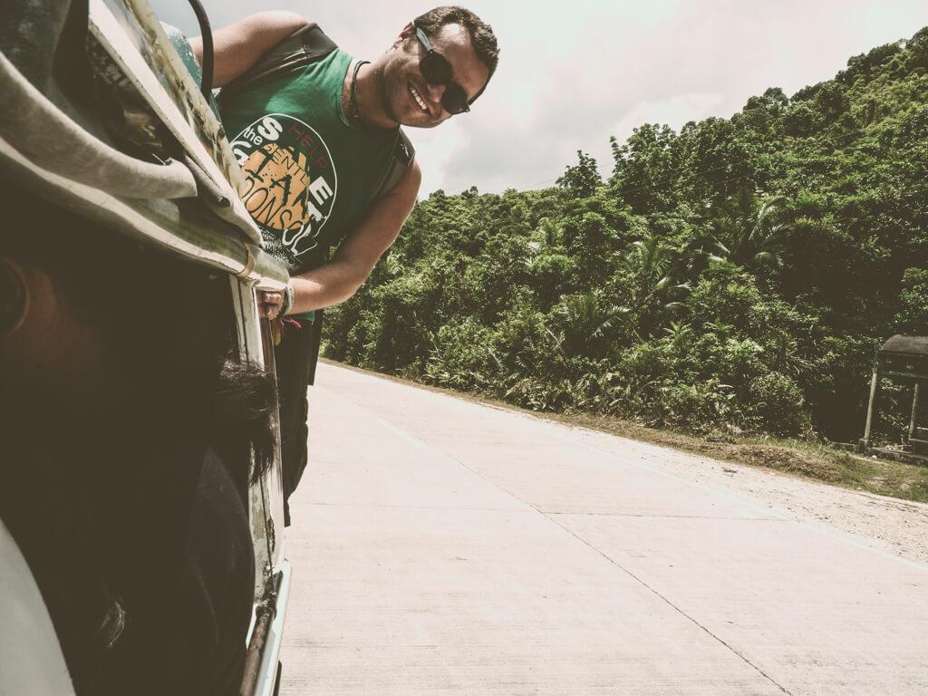Автостоянка на Филиппинах