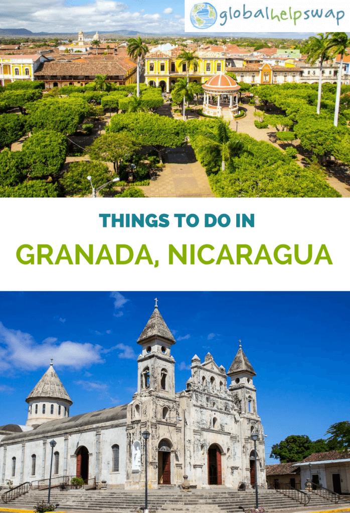 Чем заняться в Гранаде, Никарагуа. Гранада - красивый маленький город прямо на озере Никарагуа, от еды до колониальной архитектуры. Поблизости находятся вулканы и острова, это идеальное место для приключений.