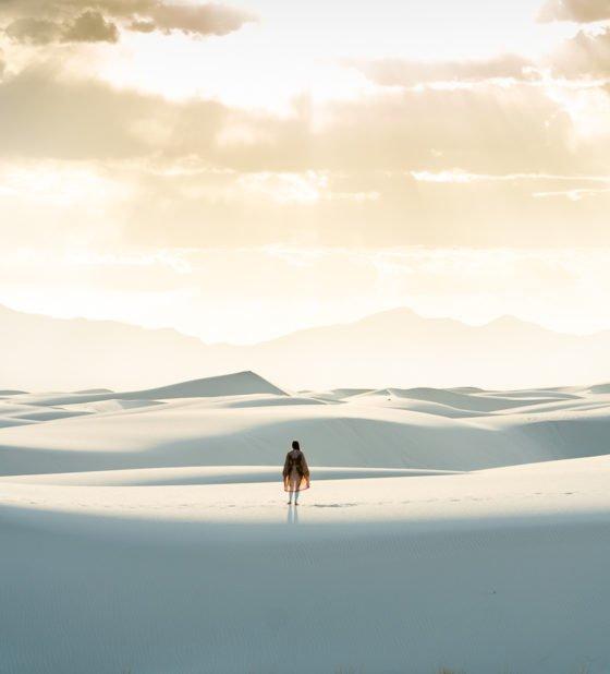 национальный парк белых песков