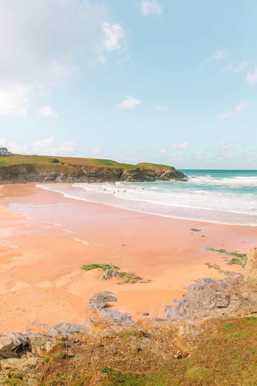 Пляжи в Англии Пляж Фистрал