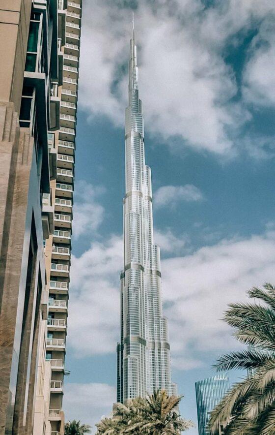 Бурдж-Халифа - первое место в списке достопримечательностей Дубая!