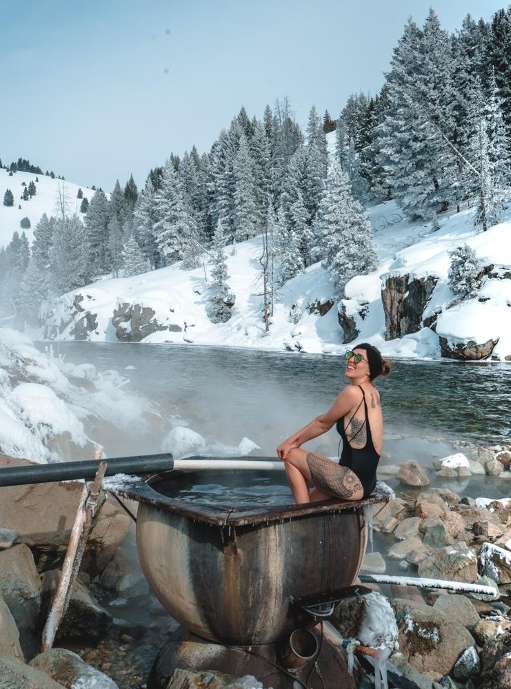 Айдахо горячие источники