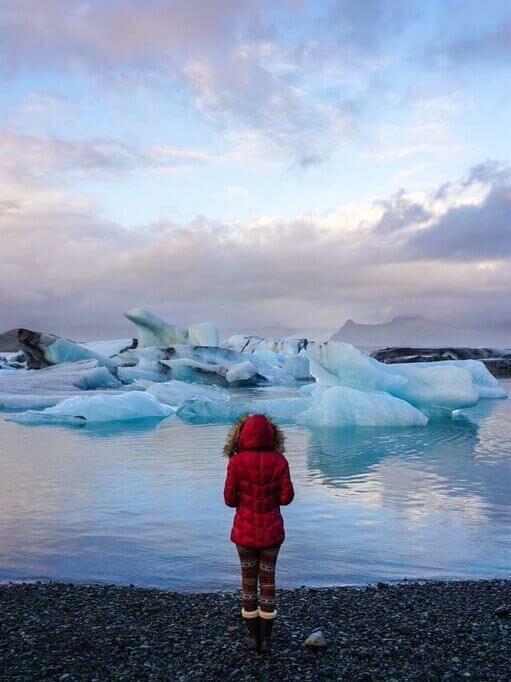 ледниковая лагуна йокулсарлон