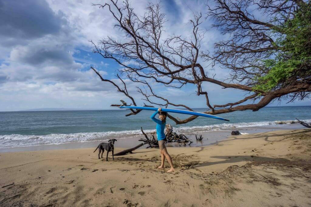 уроки серфинга мауи
