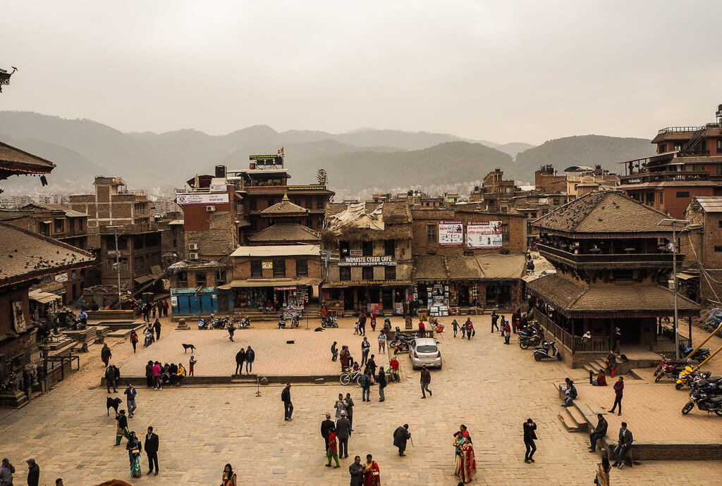 Места для посещения в Бхактапуре, Непал