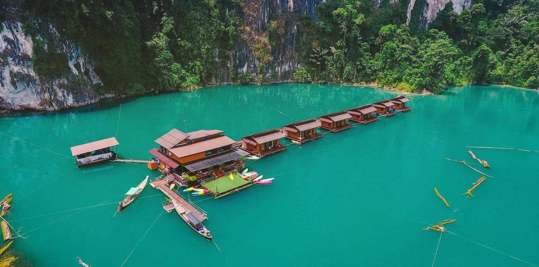 Лучшие плавучие бунгало Khao Sok на озере Чео Лан, Таиланд