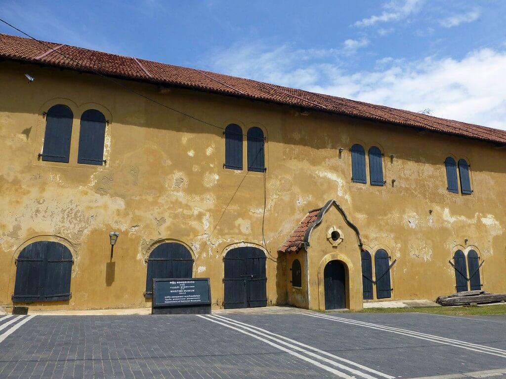 Посещение Национального морского музея Галле, Шри-Ланка