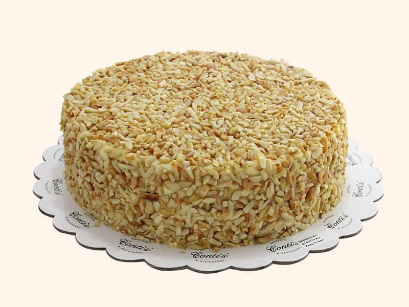 Рецепт Сан-Риваль | Слоеный торт с филиппинским кешью и безе