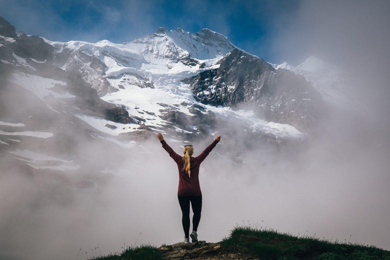 Как Швейцария лидирует среди женщин на природе